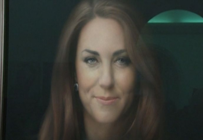 Duchess of Cambridge first official portrait unveiled