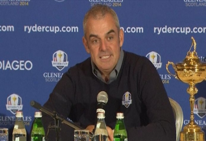 Paul McGinley humbled by Europe Ryder Cup Captaincy