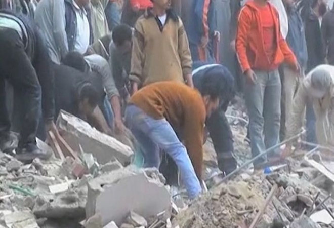 Egypt: Block of flats collapse 14 dead