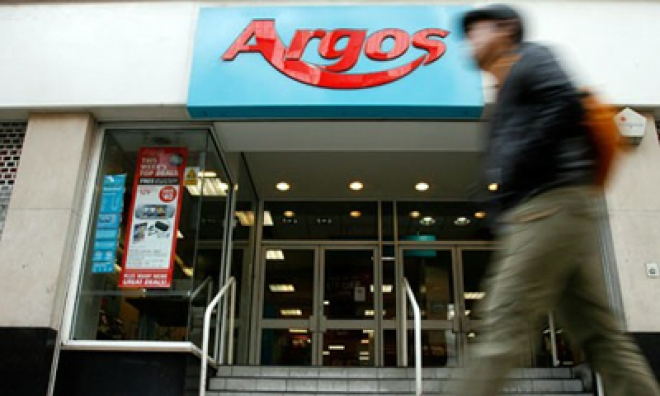 Argos reports pre-Christmas sales increase