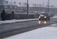 Snow cause transport chaos across UK