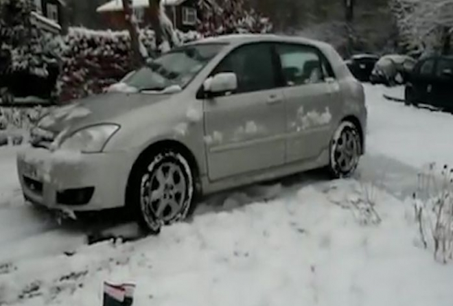 Snow and ice across UK cause commuter chaos