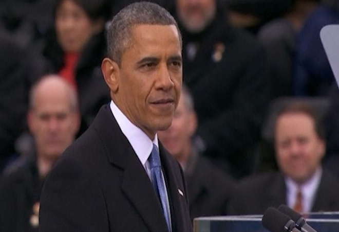 US President Barack Obama's 2013 inaugural address