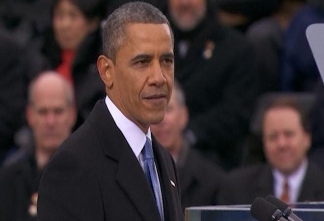 US President Barack Obama's 2013 inaugural address