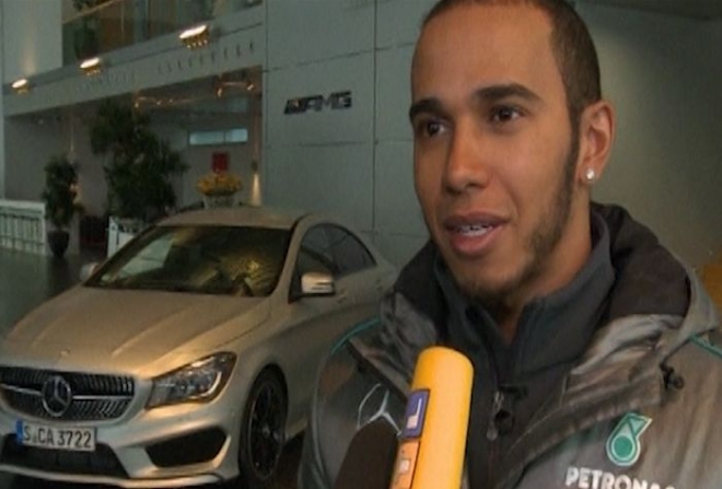 Lewis Hamilton ready for Mercedes challenge