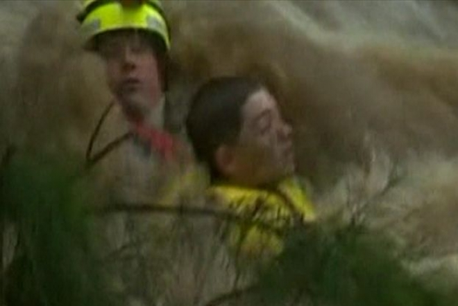 Australian boy rescued from deadly flash flood