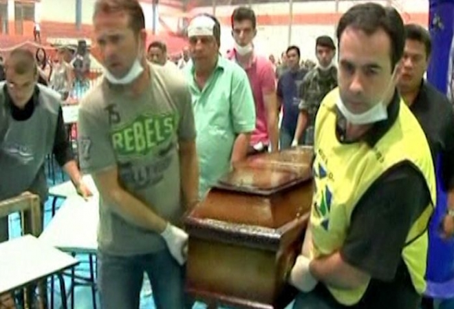 Brazil nightclub fire: Funerals set to take place