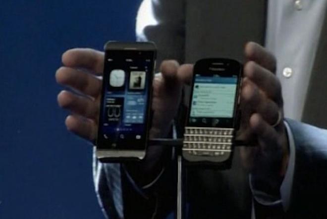 BlackBerry unveils Z10 & Q10 smartphones