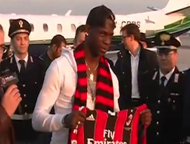 Mario Balotelli completes move to AC Milan