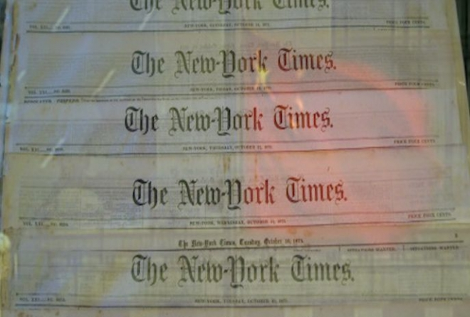 China denies hacking New York Times