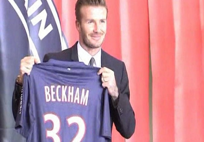 David Beckham ready to be a success at PSG