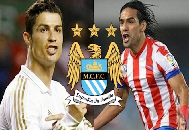 City plan double swoop for Ronaldo and Falcao