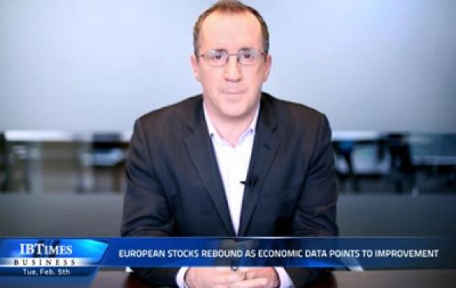 European stocks rebound as economic data points to improvement