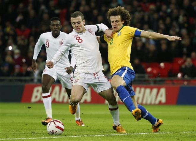 Wilshere praised for performance against Brazil