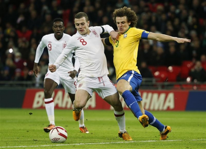 Wilshere praised for performance against Brazil