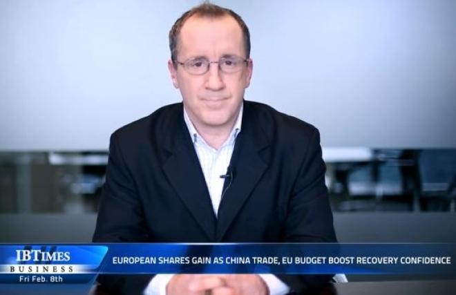 European shares gain as china trade, EU budget boost recovery confidence
