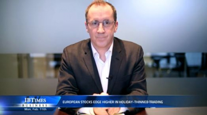 European stocks edge higher in holiday-thinned trading