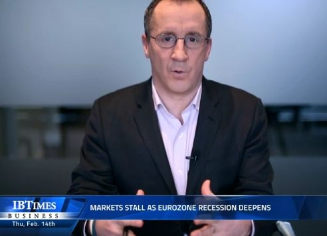 Markets stall as Eurozone recession deepens
