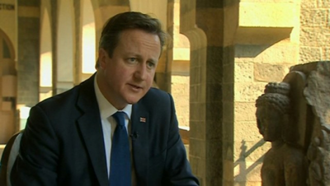 David Cameron Pays Homage at Massacre Site in Northern India