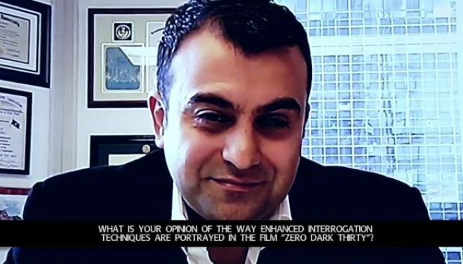 "Former FBI agent Ali Soufan talks torture and ""Zero Dark Thirty"""