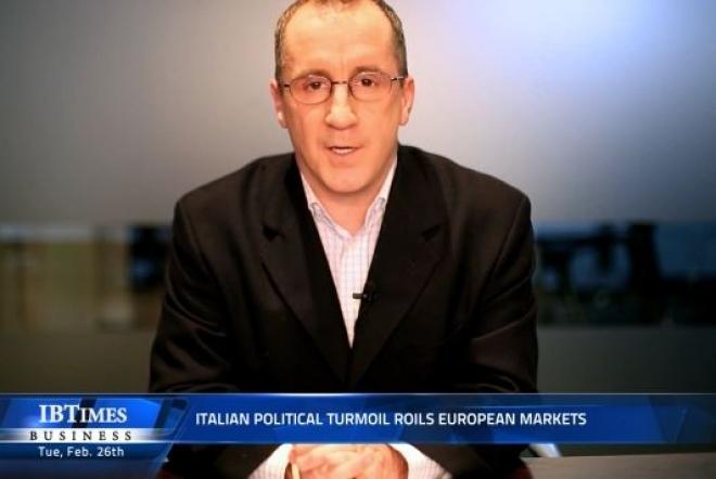 Italian political turmoil roils European markets