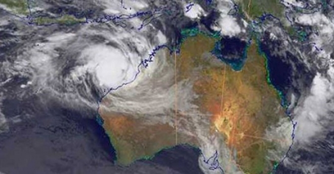Australia Cyclone Intensifies To Category 4