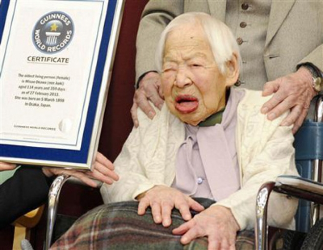 Worlds Oldest Woman Turns 115