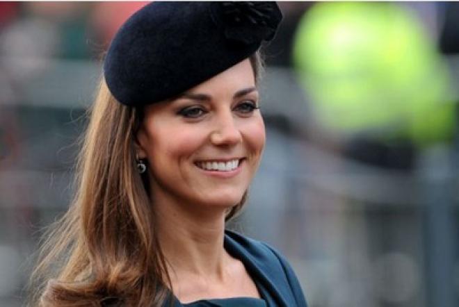 Huge Crowds Cheer Pregnant Kate During Royal Visit