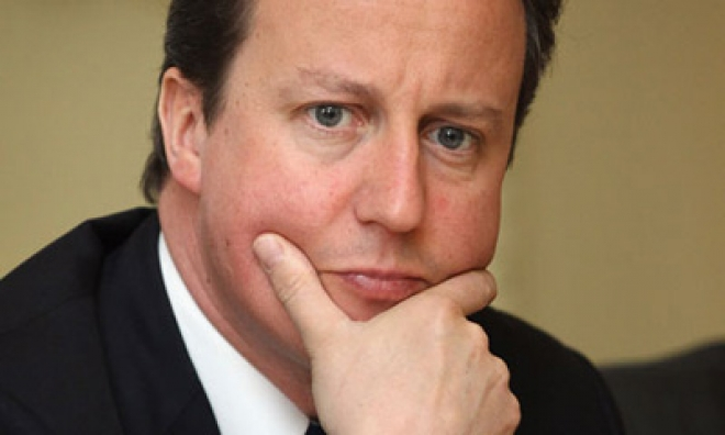 Cameron: No Turning Back on Deficit Cut Plans