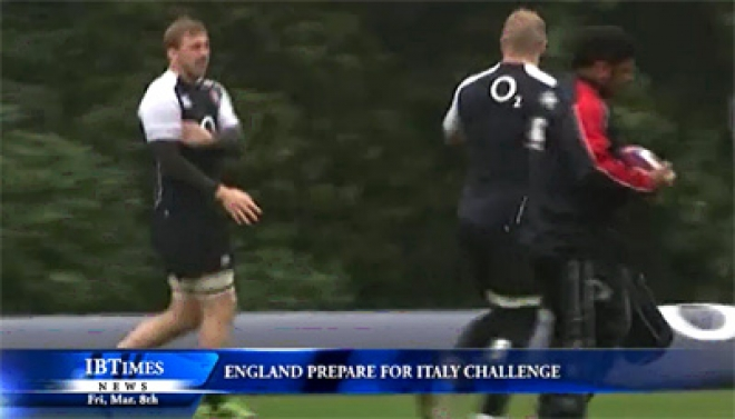England Prepare For Italy Challenge