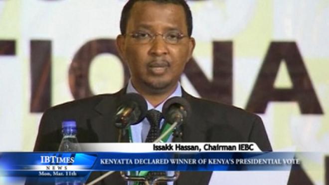 Kenyatta Declared Winner Of Kenya Presidential Vote
