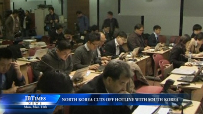 North Korea Cuts Off Hotline With South Korea