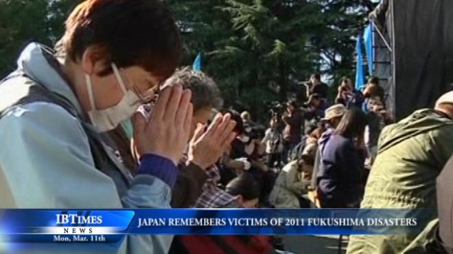 Japan Remembers Victims Of 2011 Quake, Tsunami, Nuclear Disasters