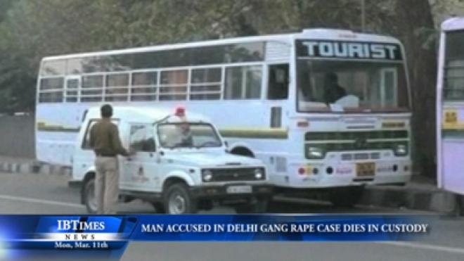 Man Accused In Delhi Gang Rape Case Dies In Custody