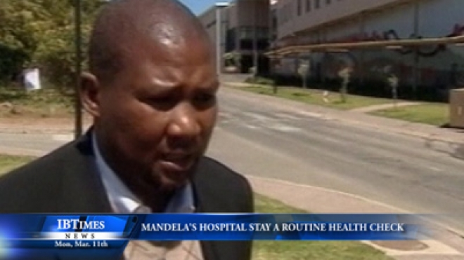 Mandela Hospital Admittance Was A Routine Health Check, Says Family