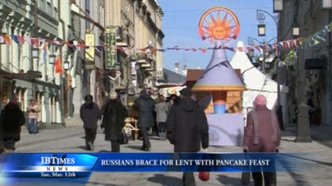 Russians Brace For Lent With Pancake Feast