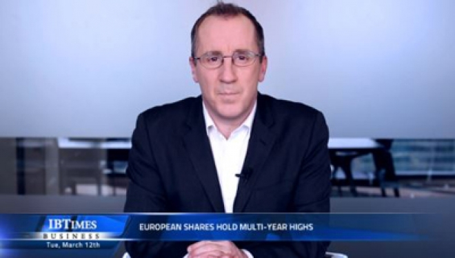 European shares hold multi-year highs