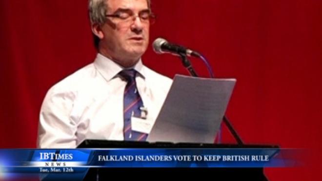 Falkland Islanders Vote Overwhelmingly To Keep British Rule