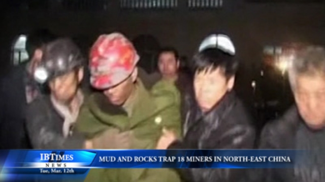 Flow Of Mud And Rocks Traps 18 Miners In Northeast China
