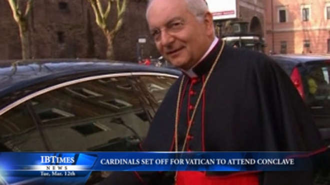 Cardinals Set Off For Vatican To Attend Conclave