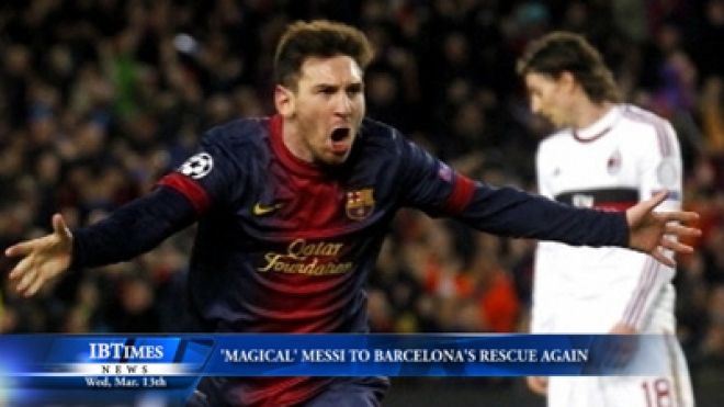 Magical Messi To Barcelona Rescue Again
