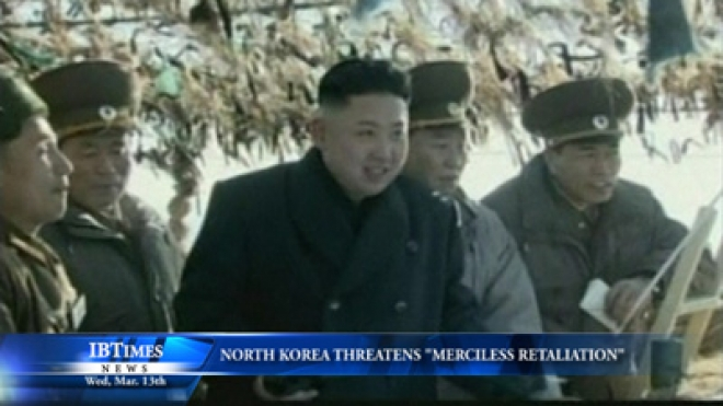 North Korea Threatens Merciless Retaliation Against South Korea And U.S.