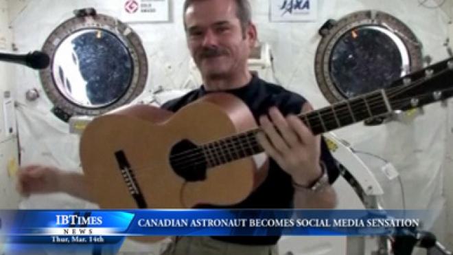 Canadian Astronaut Becomes Social Media Sensation