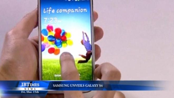Samsung Unveils Galaxy S4