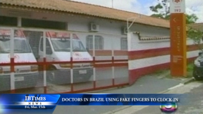 Brazilian Doctors Accused Of Using Fake Fingers To Check-In Coworkers At Work