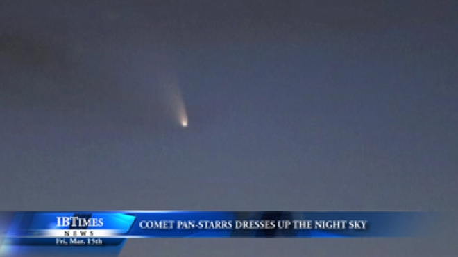 Comet Pan-STARRS Dresses Up Night Skies, Visible With Naked Eye