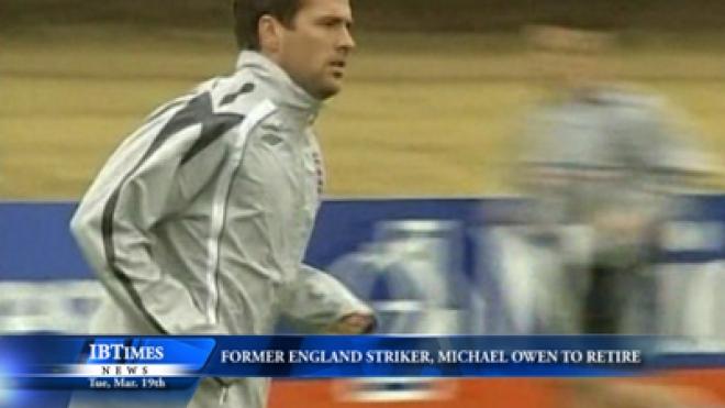 Former England Striker Owen To Retire At End Of Season