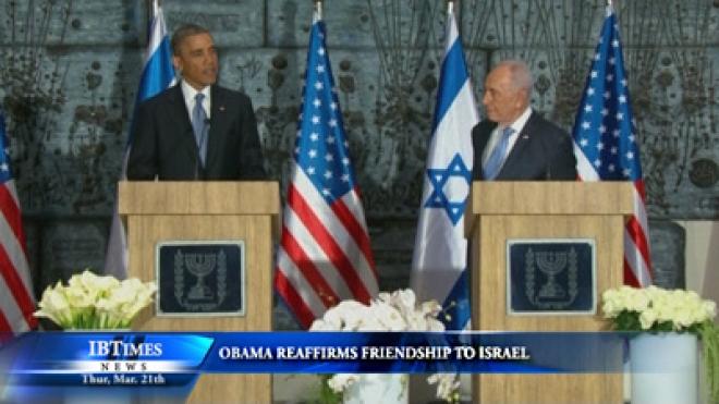 Obama Reaffirms Friendship To Israel