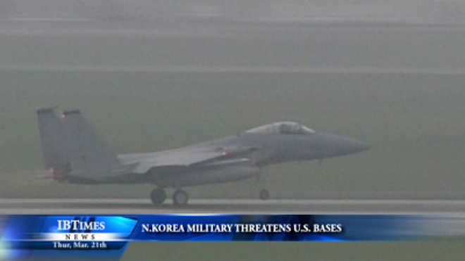 North Korea Military Threatens U.S. Bases Saying They Are Within Target
