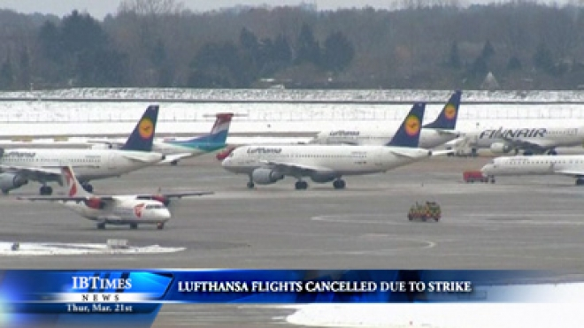 Hundreds Of Lufthansa Flights Cancelled Due To Strike